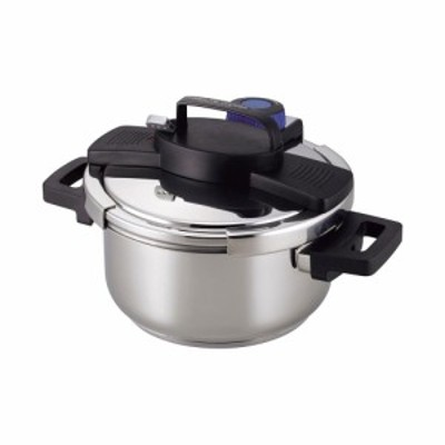 サーモス 3層底ワンタッチレバー4.0L | 圧力鍋 H-5388