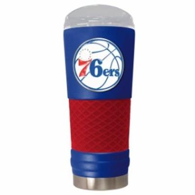 Great American Products ゲット アメリカン プロダクツ スポーツ用品  Philadelphia 76ers Blue 24oz. Powder Coate