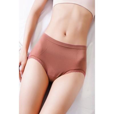 ショーツ レディース 高通気性 おなかすっぽり 深履き レディース パンツ 綿 コットン ストレッチ 女性の下着 お腹 引き締め  無地 インナー 伸縮性 フィット感