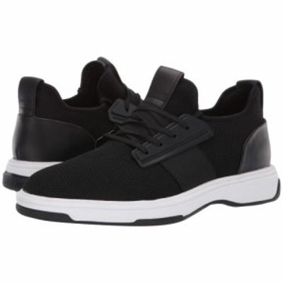 カルバンクライン Calvin Klein メンズ スニーカー シューズ・靴 Phyll Black Nylon/Nappa Smooth Calf