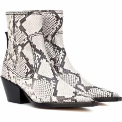 ジョゼフ Joseph レディース ブーツ ショートブーツ シューズ・靴 printed leather ankle boots Roccia