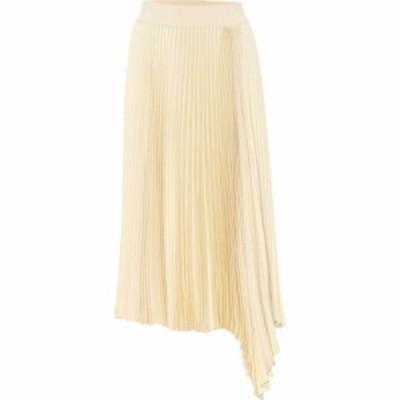 ジョゼフ Joseph レディース ひざ丈スカート スカート Sabin Plisse Crepe Midi Skirt Ivory