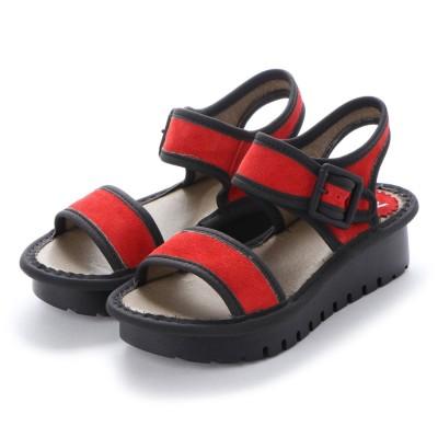 ヨーロッパコンフォートシューズ EU Comfort Shoes FLYLONDON サンダル(500.603) (レッド)