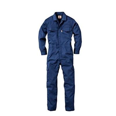 GRACE ENGINEERS GE507 12 ネイビー 春夏用 長袖つなぎ M