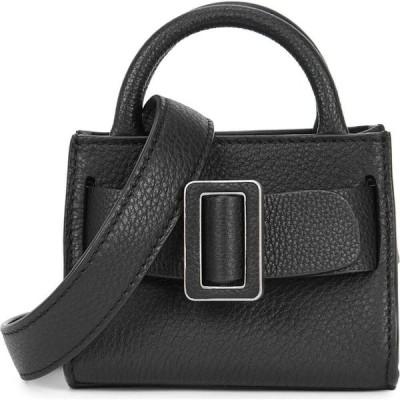 ボーイ Boyy レディース ショルダーバッグ バッグ Bobby Soft black leather cross-body bag Black