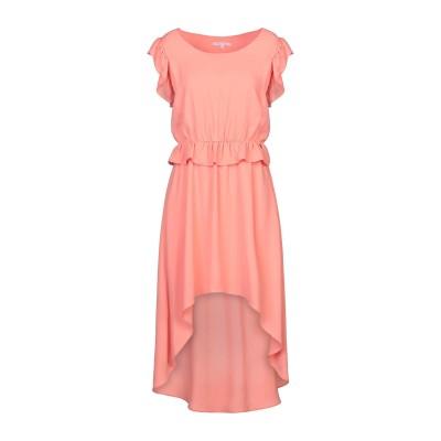KORALLINE ミニワンピース&ドレス サーモンピンク 44 ポリエステル 100% ミニワンピース&ドレス