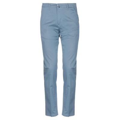 VINCENT TRADE パンツ ブルーグレー 46 コットン 100% / ポリウレタン パンツ