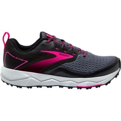 ブルックス Brooks レディース ランニング・ウォーキング シューズ・靴 Divide 2 Trail Running Shoes Black/Pink