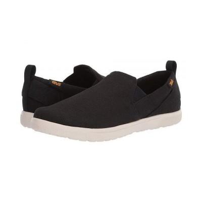 Teva テバ メンズ 男性用 シューズ 靴 スニーカー 運動靴 Voya Slip-On - Black