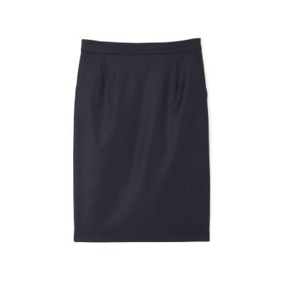 BOSCH ボッシュ シルクウールギャバストレッチセットアップスカート
