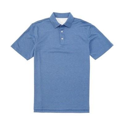サウザーンタイド メンズ ポロシャツ トップス Angler Performance Stretch Short-Sleeve Polo Shirt Seven Seas Blue