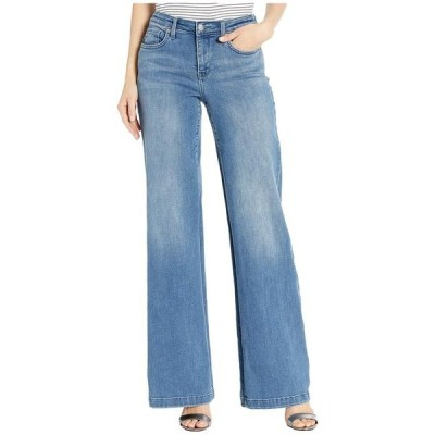 エヌワイディージェイ レディース デニムパンツ ボトムス Wide Leg Trouser Jeans in Brickell