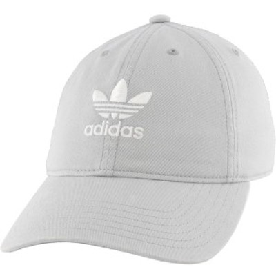 アディダス レディース 帽子 アクセサリー adidas Originals Women's Relaxed Strapback Hat Stone