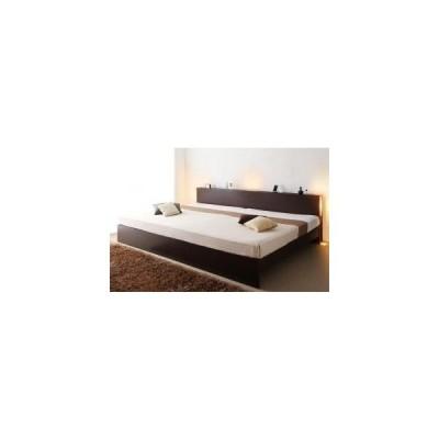 ベッドフレーム ベッド マットレス付き 高さ調整できる国産ファミリーベッド 羊毛入りゼルトスプリングマットレス付き ワイドK200