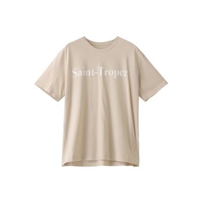 RED CARD レッドカード 【FLAVOR TEE】SAINT-TROPEZ Tシャツ レディース MILK TEA F