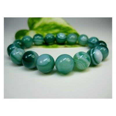 ブレスレット 緑天眼石 品質AAA 熱処理    Φ12±0.2mm 一点物