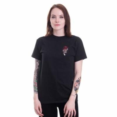 インペリコン Impericon レディース Tシャツ トップス - Snake Rose - T-Shirt black