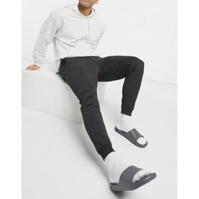 プルアンドベアー メンズ カジュアルパンツ ボトムス Pull&Bear sweatpants In Gray