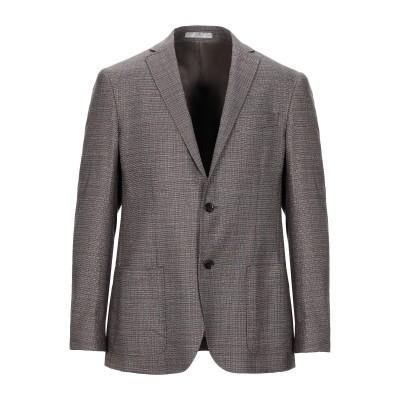 CC COLLECTION CORNELIANI テーラードジャケット ブラウン 52 バージンウール 100% テーラードジャケット