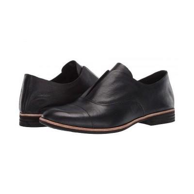 Kork-Ease コークイーズ レディース 女性用 シューズ 靴 ローファー ボートシューズ Nottingham - Black Full Grain Leather