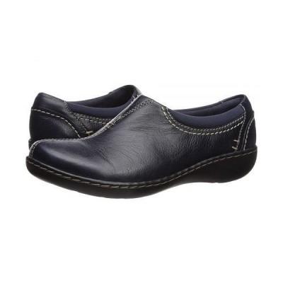 Clarks クラークス レディース 女性用 シューズ 靴 ローファー ボートシューズ Ashland Joy - Navy Leather