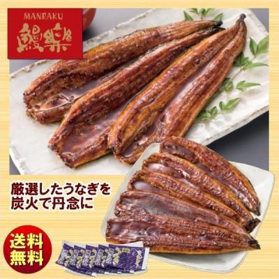 送料無料 ギフト 鰻楽 宮崎県産ハーブうなぎ蒲焼特大5尾