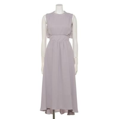 Roomy´s (ルーミーズ) レディース ランダムシャーリングテールカットドレス ライトグレー F