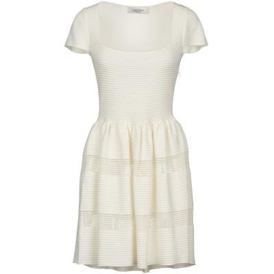 ヴァレンティノ VALENTINO ミニワンピース&ドレス ホワイト 40 ナイロン 100% ミニワンピース&ドレス