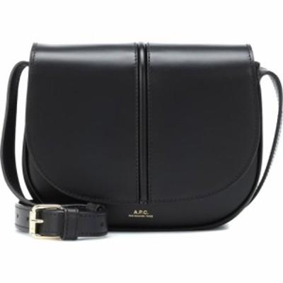 アーペーセー A.P.C. レディース ショルダーバッグ バッグ Betty leather crossbody bag Noir