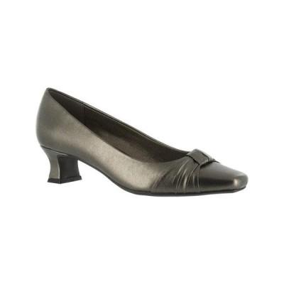 レディース 靴 スニーカー easy street women's waive dress pump pewter 6 w us