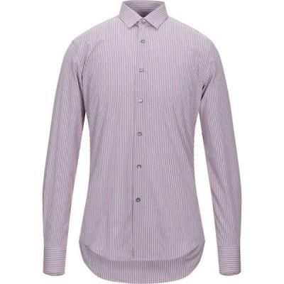 ランバン LANVIN メンズ シャツ トップス striped shirt Mauve