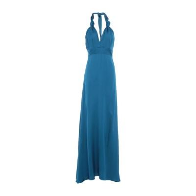 KITAGI® ロングワンピース&ドレス ディープジェード 42 レーヨン 100% ロングワンピース&ドレス