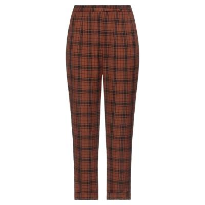 マッシモ・アルバ MASSIMO ALBA パンツ 赤茶色 40 ウール 100% パンツ