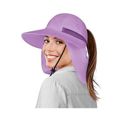 SUN CUBE Women Hiking Hat Fishing Hat | UV Protection Sun Hat | Ponytail Wa