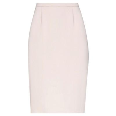 マックスマーラ MAX MARA ひざ丈スカート ライトピンク 42 アセテート 85% / シルク 10% / ナイロン 5% ひざ丈スカート
