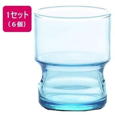 スタックタンブラーパブ ブルー 245ml 6個 東洋佐々木ガラス CB-02152-BL