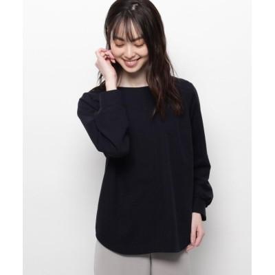 (smart pink/スマートピンク)【手洗い可】スクエアネックプルオーバー/レディース ネイビー(093)