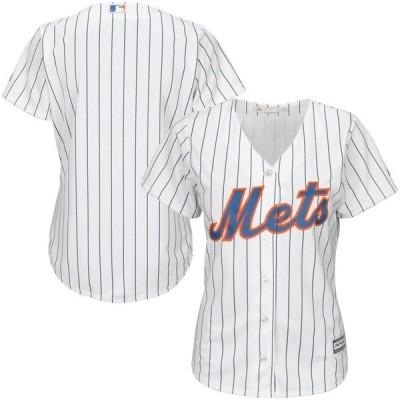 マジェスティック レディース Tシャツ トップス New York Mets Majestic Women's Cool Base Jersey
