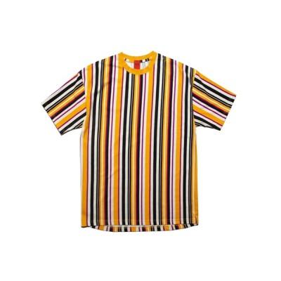 Lafayette / ナインルーラーズ [Nine Rulaz] - ストライプ半袖Tシャツ [Striped Tee] MEN トップス > Tシャツ/カットソー