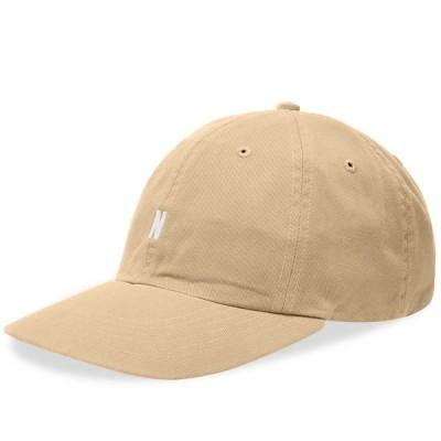 ノースプロジェクト Norse Projects メンズ キャップ 帽子 Twill Sports Cap Utility Khaki