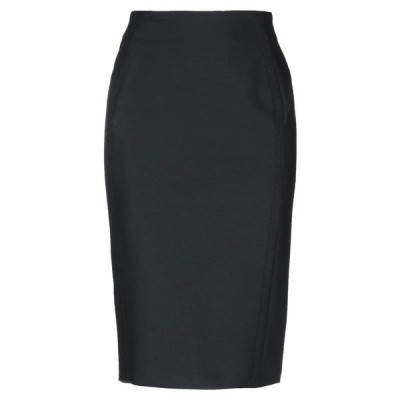 VIA MASINI 80 ひざ丈スカート  レディースファッション  ボトムス  スカート  ロング、マキシ丈スカート ブラック