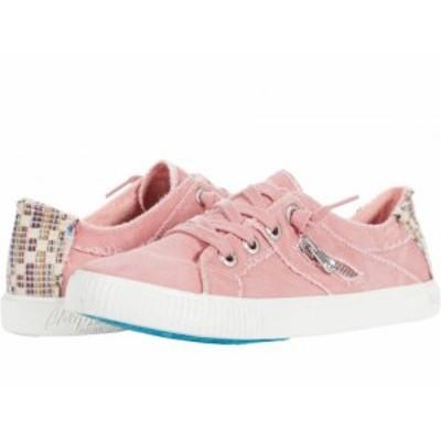Blowfish ブローフィッシュ レディース 女性用 シューズ 靴 スニーカー 運動靴 Fruit Dusty Pink Smoked Canvas【送料無料】