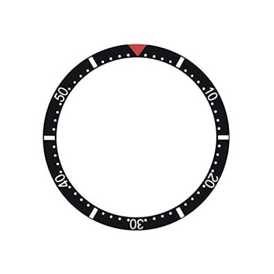 Bezel Insert Compatible with Rolex Submariner 37.5mm X 30mm with Red Triang好評販売中