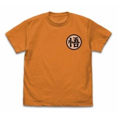 ドラゴンボールZ 悟空マーク Tシャツ ORANGE Lサイズ+ドラゴンボールキーホルダー1個付属