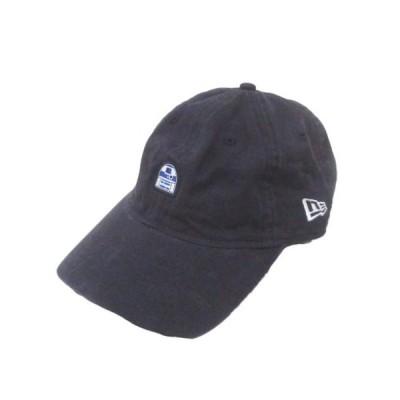 【中古】ニューエラ NEW ERA ×STAR WARS キャップ 帽子 9TWENTY 紺 ネイビー ワッペン コットン X メンズ 【ベクトル 古着】