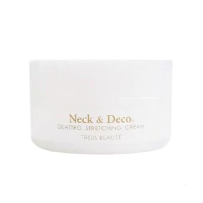 Neck&Deco ネック&デコ クワトロストレッチングクリーム 80g 首 デコルテ 目元 ほうれい線ケア 送料無料 正規品