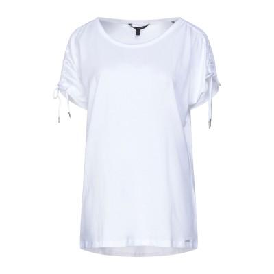 ARMANI EXCHANGE T シャツ ホワイト M コットン 50% / レーヨン 50% T シャツ
