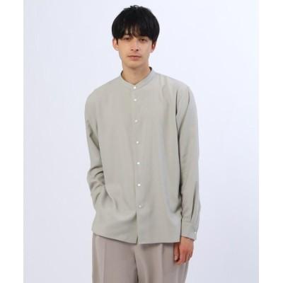 (tk.TAKEO KIKUCHI/ティーケー タケオキクチ)【S~3L】TRバンドカラーシャツ/メンズ ナチュラル(050)