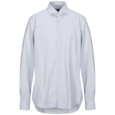 WEBB & SCOTT CO. シャツ ホワイト 44 コットン 100% シャツ