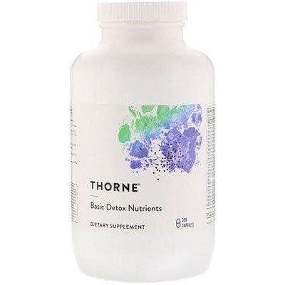 基本的な解毒栄養素(Basic Detox Nutrients), 360粒(ベジタリアンカプセル)